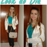 Look do Dia: (Turquesa)