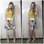Look do dia: Floral Amarelo