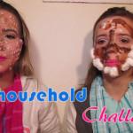 Desafio de Maquiagem com Produtos para a Casa | The Household Challenge