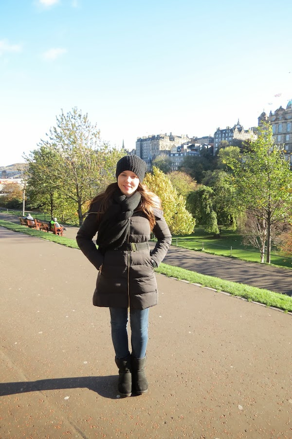 Look do Dia - Congelando em Edimburgo