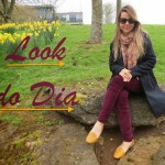 Look do Dia: Burgundy e Flores