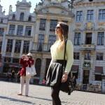 Look do dia em Bruxelas – Thaís