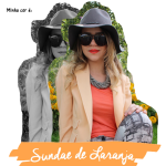 Look do Dia: Sundae de Laranja