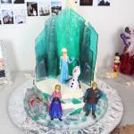 Bolo do Frozen | Castelo da Elsa
