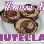 Mousse de Nutella em Potes de Chocolate
