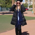 Look do Dia: Passando frio em Vegas