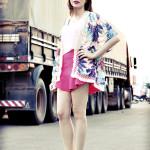 Look do Dia: Kimono Tropical