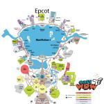 Fugindo das Filas no Epcot