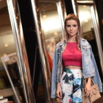 Look – Cropped e Pantacourt para o SPFW