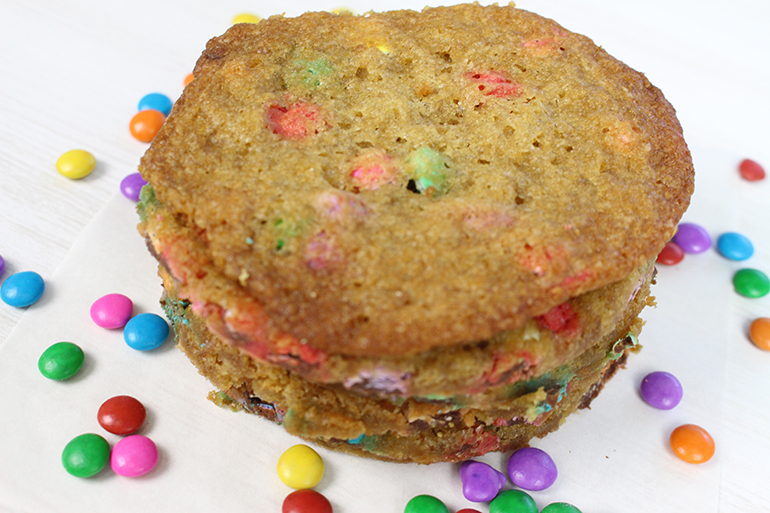 cookie de m&m