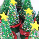 Cupcake de Árvore de Natal #Tchuba30Dias | Dia 3
