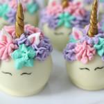 Cake Pops de Unicórnio
