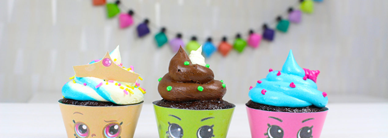 Shopkins Cupcakes – A decoração mais fácil ever!