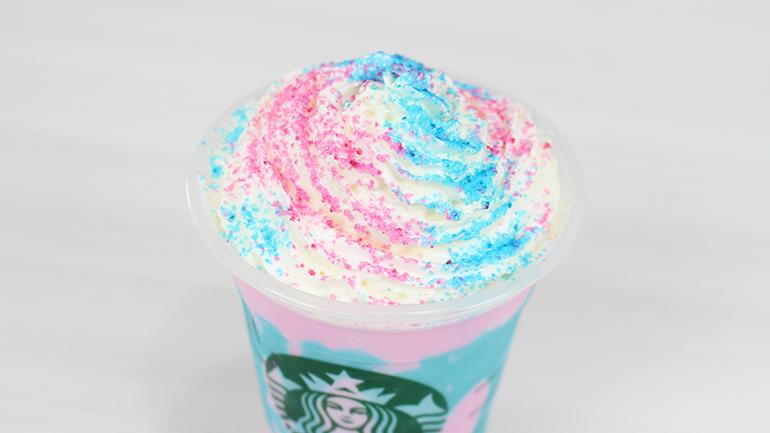 Starbucks Frappuccino de Unicórnio