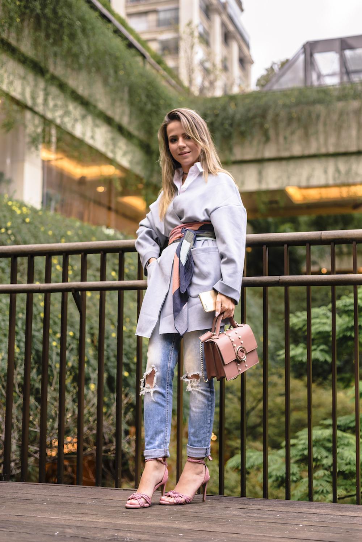 look azul serenity e rosa millennial