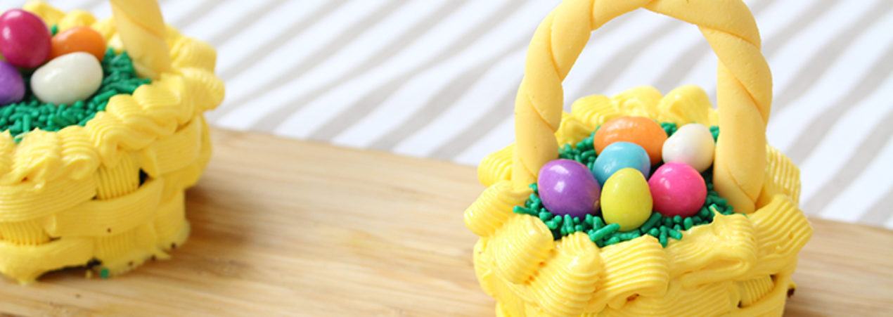 Cupcake de Páscoa – Cesta de Ovos
