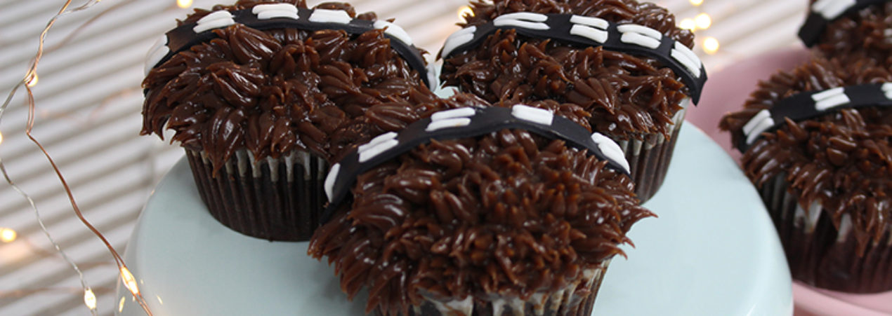 Cupcake Star Wars – Chewbacca