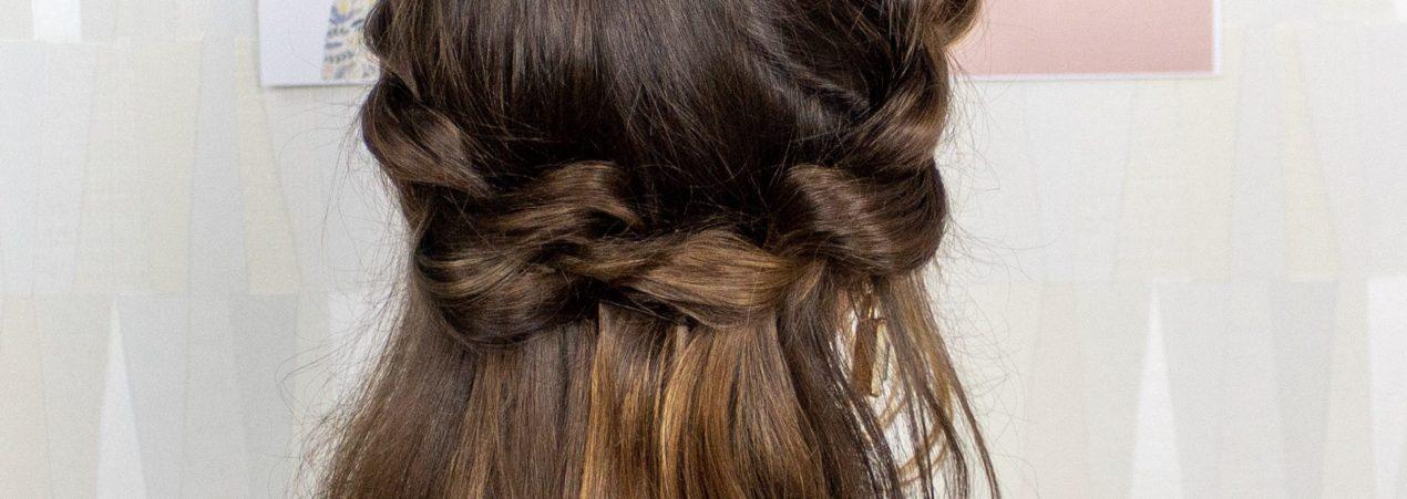 Tutoriais de Penteados para Cabelo fáceis e rápidos